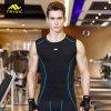 La ginnastica Sleeveless della camicia del Mens supera i serbatoi di forma fisica