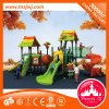 O metal ao ar livre do PE das crianças atrativas desliza e monta o campo de jogos
