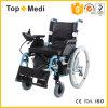 Topmediの電子力の車椅子を折る経済的な健康の製品アルミニウム