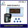 7  Fingerabdruck-Anerkennung videoDoorphone Türklingel der LCD-Aufnahme-HD 1000tvl DVR