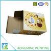 Caixa de papel impressa costume do bolinho do cartão