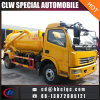 Dongfeng 5ton 진공 펌프 유조 트럭 진공 하수 오물 트럭