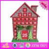 Calendario di legno del bambino all'ingrosso 2016, calendario di legno della decorazione di natale, calendario di legno divertente W02A175