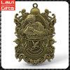 Geschickter Entwurfs-kundenspezifische antike Bronzemilitärsport-Medaille