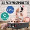 separador de vidro da máquina do frame da tela de toque de 5in1 LCD