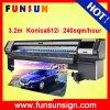 Funsunjet Fs-3208n digital solvente impresora de gran formato (3,2 m, cabezas KONICA, velocidad rápida)