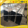 Profil en aluminium d'extrusions d'approvisionnement d'usine grand pour le mur rideau