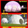De duidelijke Transparante Witte Tent Fastup van de Koepel van pvc Openlucht Geodetische