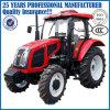 Tractor agrícola de gran potencia de dirección hidráulica 110HP tractor de cuatro ruedas