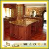 Partie supérieure du comptoir bronzage Polished de granit de Brown de pierre normale pour la cuisine/salle de bains (YQC)