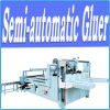 Cardboard Box 60m/Min Simens Partsのための半Automatic Gluing Machine