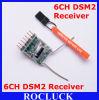 Récepteur d'émetteur de Compatable 2.4GHz Dsm2 2.4G (AR6110E)