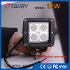 CREE 12W para a lâmpada Offroad da luz do trabalho do diodo emissor de luz do automóvel do caminhão do carro 4WD do veículo