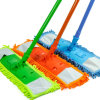 Limpeza de pisos de madeira com microfibra Mops
