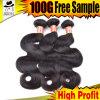 Cheveu brésilien de tressage de longueurs d'extensions grandes de cheveu