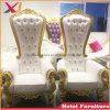 Het beste verkoopt de Hoge AchterKoning en Koningin Throne Chair van het Huwelijk voor het Restaurant van het Hotel