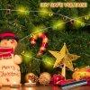 Cork Lichten met LEIDENE van het Koord van de Fee van de Schroevedraaier Lichten voor de Decoratie van de Kerstboom van het Festival van het Overleg van het Huwelijk van de Partij