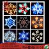 Éclaille de neige de quirlande électrique de DEL modelant la décoration légère de Noël de corde