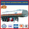 3 차축 42000L 판매를 위한 특별한 차량 연료 탱크 유조선 트레일러