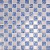 Fabricante de cerámica azul Malasia de los azulejos de suelo de la pared de la piscina del cuarto de baño del mosaico