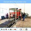 Bloco que faz a máquina no material de construção que faz a maquinaria