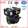 7hp moteur Diesel avec démarrage électrique stable (ETK178FS)