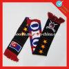 Шарф футбола Knit Голландии акриловый изготовленный на заказ
