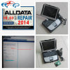 Alldata en Mitchell Auto op bestelling Repair Software 1tb HDD + voor Panasonic Toughbook CF19 Laptop