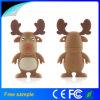 Los ciervos de Milu formaron el mecanismo impulsor del flash del USB del reno del PVC