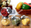 Kitchen di vetro Storage Jar con Metal Lid