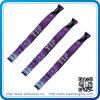 GroßhandelsNylon Woven Bracelet mit Ein Zeit Use Lock (HN-WB-008)