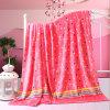 Супер мягкое напечатанное одеяло ватки одеяла фланели Coral