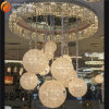 最も新しいペンダント灯の水晶シャンデリアの大きいヨーロッパの水晶シャンデリア