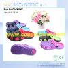 新しい通気性の多彩な庭の障害物、女性のための安いエヴァの障害物のサンダルの靴