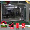 PVC 철회 가능한 스크린을%s 가진 옥외 이중 접게된 문