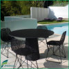 Outdoor Waterproof Garden Table Top com cadeira
