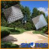 Réseau en plastique pour l'allée de gravier, stabilisation de gravier pour des allées, machines à paver d'allée de nid d'abeilles