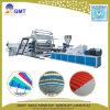 Chaîne de production en plastique de panneau de tuile de feuille de toit d'onde de PVC+PP+Pet
