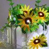 日曜日の花ストリングはAAによって作動させる熱い販売法Insのベストセラーの豆電球ストリングをつける