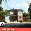 Casa de acero ligera prefabricada modular del chalet de la fabricación de China