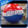Sphère ballon géant avec Pepsi logo pour la publicité