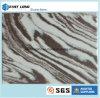 As novas cores de mármore pedra artificial bancada de quartzo