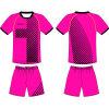 Le football fait sur commande de sublimation de femmes Jersey uniforme pour l'équipe