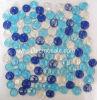 プールのモザイクペニーの円形のガラスモザイク(PG05)