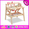 Новое Toys на Play 2015, Multifunctional Wooden Tool Toy Building Play Set, Wooden Tool Desk Toy, Wooden Assembly Tool Toy W03D041