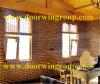 Solid Larch/madeira de pinho Vidro da janela de alumínio para a Casa da Estrutura