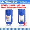 NEXIQ 125032 USB-Verbindungs-+ Software-Diesel-LKW bestimmen Schnittstelle und Software