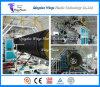 Máquina acanalada de enrrollamiento del estirador del tubo del PE plástico/máquina de la fabricación/máquina el producir