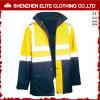 형광성 노란 파란 안전 착용 방수 사려깊은 재킷 (ELTSJI-15)