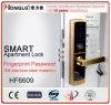 Cerradura de huella dactilar Contraseña Código de bloqueo de puerta Bloqueo de puerta